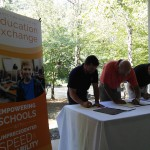 Education Exchange partners sign agreement with NGN