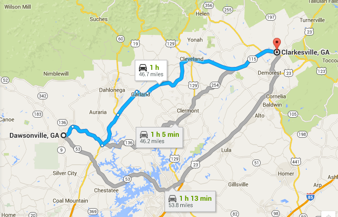 NGN Expands With New Location To Better Serve Growing Dawsonville - Georgia map dahlonega